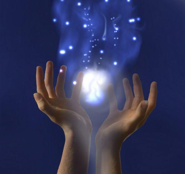 Энергетическое восстановление глаз руками
